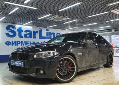 BMW 5 серии — установка StarLine S96 с сохранением ключей