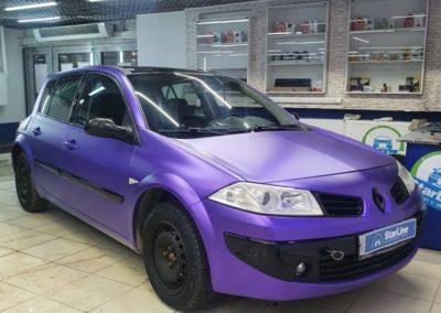 Renault Megane — установили автосигнализацию StarLine A93