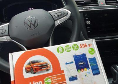 На VW Tiguan — установили сигнализацию StarLine S96