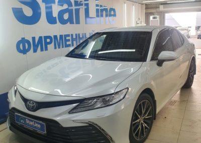 На автомобиль Toyota Camry установили охранный комплекс StarLine S96