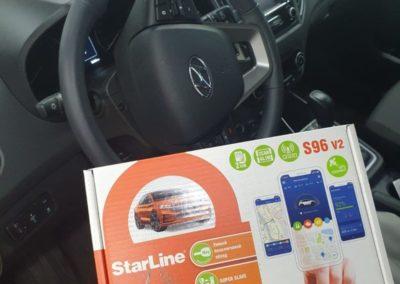На автомобиль Hyundai Creta установили охранный комплекс StarLine S96 с GPS и GSM модулями