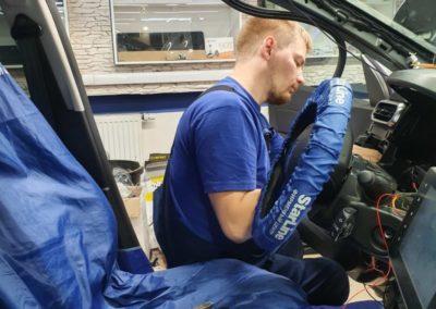 Renault Duster — установили автосигнализацию  StarLine E96