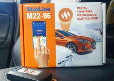 Установили модуль управления StarLine M22-96 на автомобиль Mitsubishi Outlander