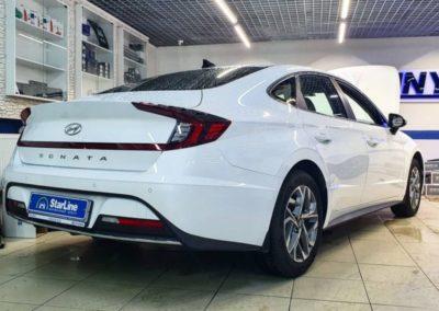 Hyundai Sonata — установили автосигнализацию StarLine S96 GSM