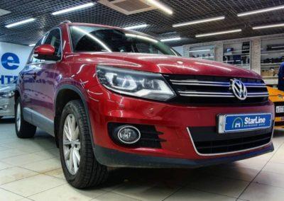 На Volkswagen Tiguan установили охранный комплекс StarLine S96 v2