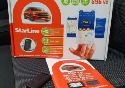 Установили сигнализацию StarLine S96 v2 GSM на Renault Sandero