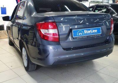 На LADA Granta установили сигнализацию StarLine E96 ECO